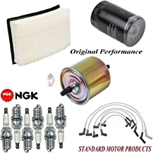 Tune Up Kit Air Oil Fuel Filters Wire Spark Plug FIT FORD TAURUS V6 3.0L 2002-2007