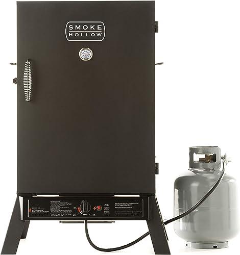 Smoke-Hollow-PS40B-Propane-Smoker-by-Masterbuilt,-Black