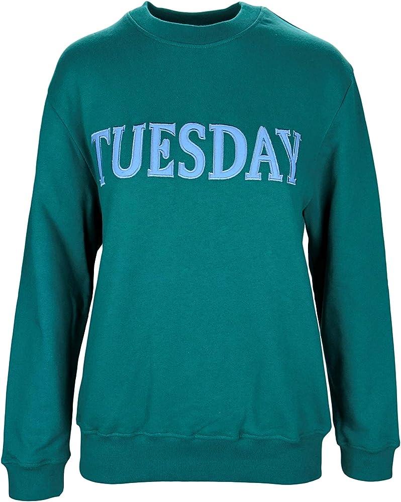 alberta ferretti tuesday, felpa per donna, women`s sweatshirt,100 % cotone alberta ferretti j1701 tuesda