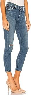 Sculpt Rocket Crop High Rise Skinny Ankle Jeans in Deja Vu