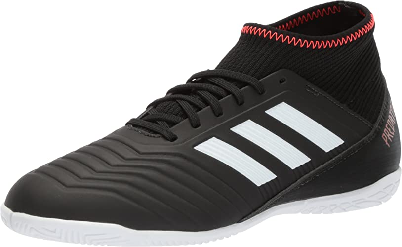 Adidas Unisex ACE Tango 18.3 in J Soccer chaussures, core noir blanc Solar rouge, 11 M US Big Enfant