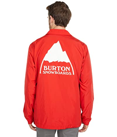 Burton Coaches Jacket (Flame Scarlet) Men
