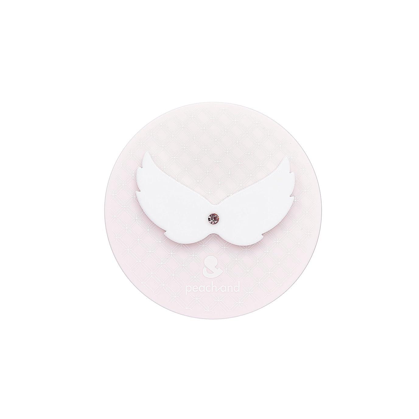 ピーチアンド 子供用 日やけ止め UVパクト SPF50+ PA+++ (天使の羽)