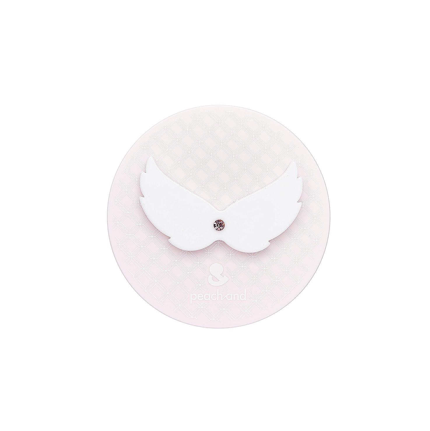 口径安西スズメバチピーチアンド 子供用 日やけ止め UVパクト SPF50+ PA+++ (天使の羽)