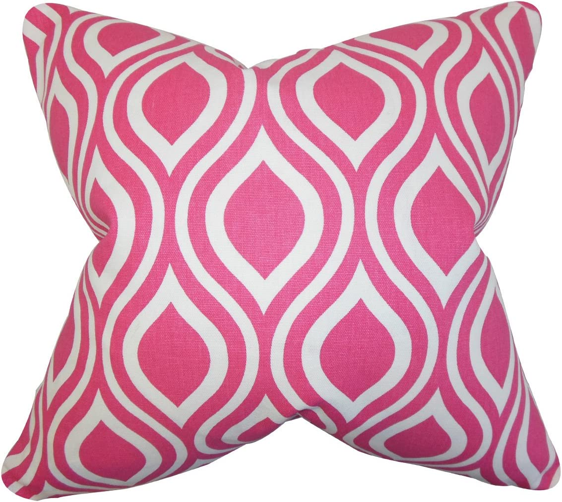 The Pillow Collection Set of 2 x Max 47% OFF Poplar Geom Louisville-Jefferson County Mall Down Filled 18