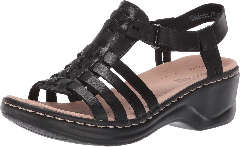Clarks Womens Lexi Bridge Platform & Wedge Sandals