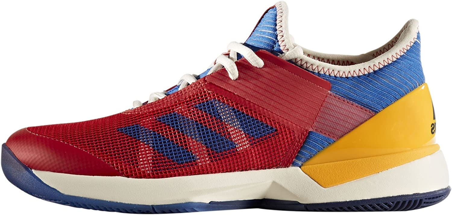 Adidas Adizero Ubersonic 3 PW Women's Tennis shoes Red bluee gold