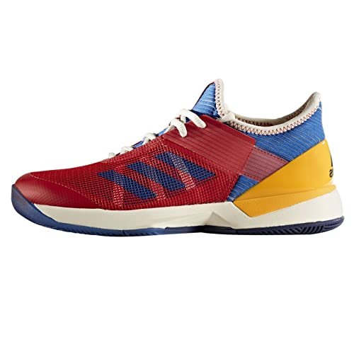 add437f0e58f adidas Adizero Ubersonic 3 PW Women s Tennis Shoe Red Blue Gold