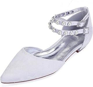 528f5a8b8 Amazon.es: zapatos novia boda cuña - Último mes / Zapatos de tacón ...