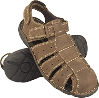 Zerimar Men's Sandals | Men's Trekking Sandals | Sandals Man Hiking | Men's Leather Sandals | Men Summer Sandals