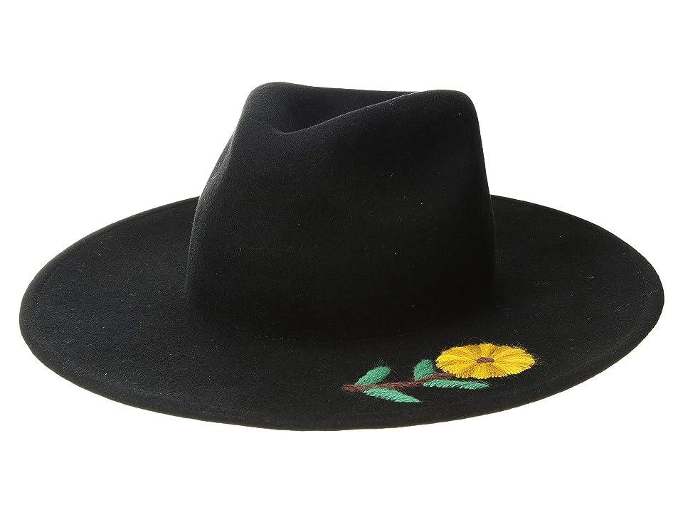 Women's Vintage Hats | Old Fashioned Hats | Retro Hats Brixton Corey Fedora Black Fedora Hats $78.00 AT vintagedancer.com