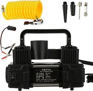 VICASKY Bomba de Pneu De Automóvel Carro Portátil Bomba Inflator Com Indicador Digital Bomba de Ar para Pneus de Carro Mot...