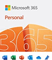 Microsoft 365 Personal |Email delivery in 1 hour| 12-Month Subscription, 1 person | Premium Office apps | 1TB OneDrive...