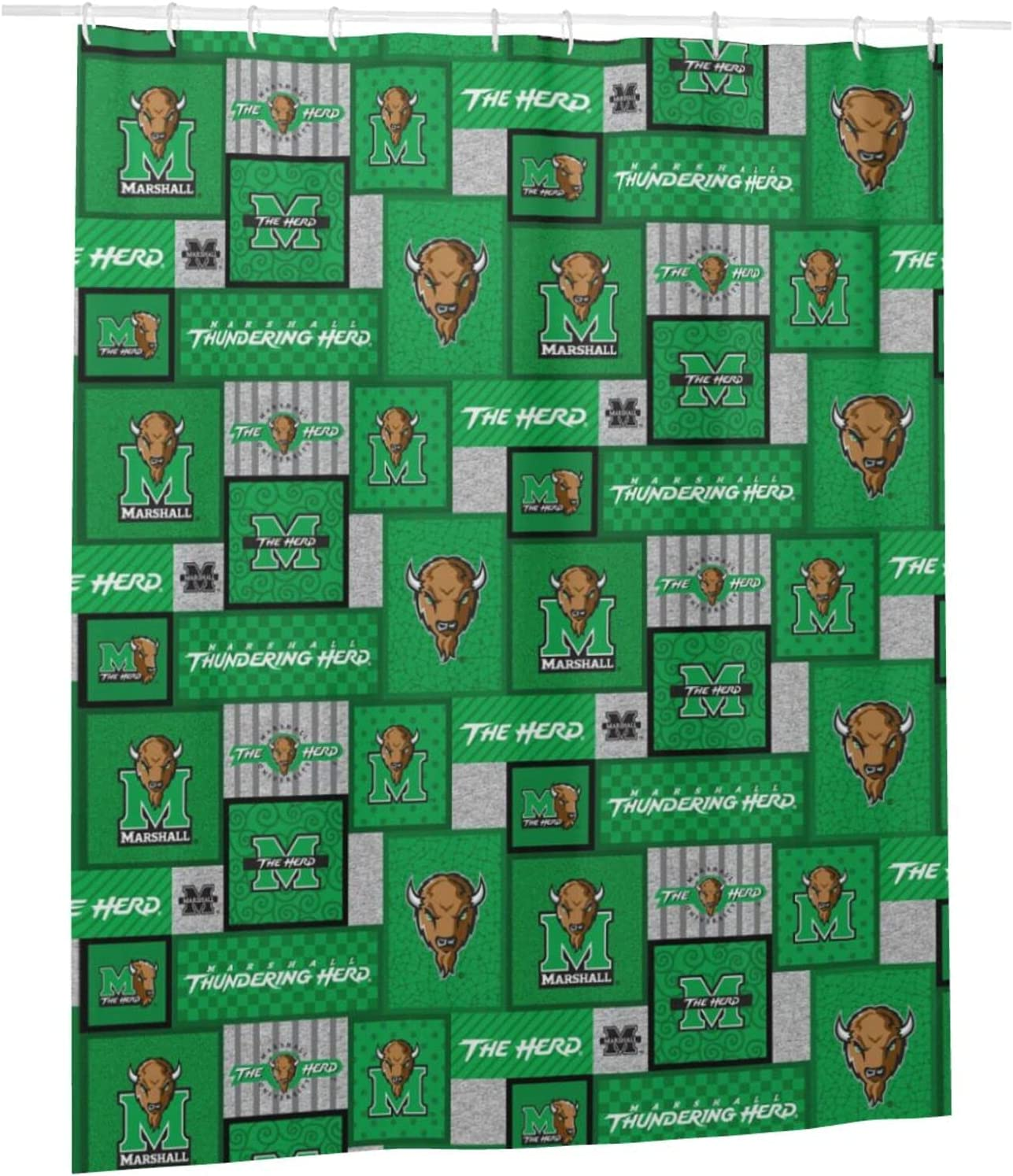 Mar-Sh-All Max 87% OFF  U Univ-Ersi-Ty Funny Popular brand in the world Shower Curtain Waterp Polyester