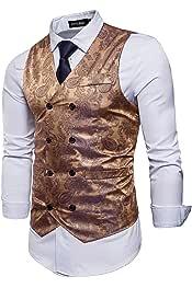 Amazon.es: Dorado - Trajes y blazers / Hombre: Ropa