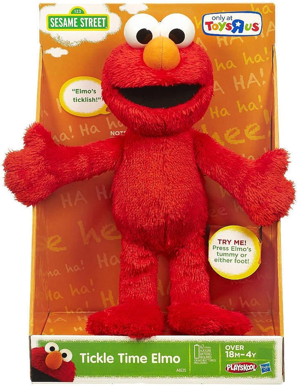 marcas en línea venta barata Sesame Street Tickle Tickle Tickle Time Elmo by Hasbro  Con precio barato para obtener la mejor marca.