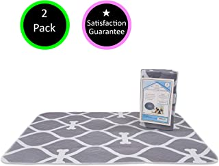 Extra Absorbent, Non Slip, Eco Friendly, Premium Washable Reusable Pee Pads for Dogs   2 x Extra Large (32x38)   Easy Puppy Training   Dog Incontinence   Whelping Pads