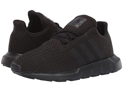 adidas Originals Kids Swift Run C (Little Kid) (Black) Kids Shoes