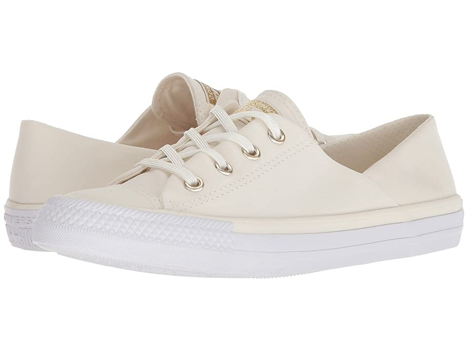 Converse Chuck Taylor(r) All Star(r) Coral Ox (Egret/Egret/White) Women