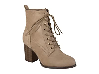 Journee Collection Baylor Bootie (Taupe) Women