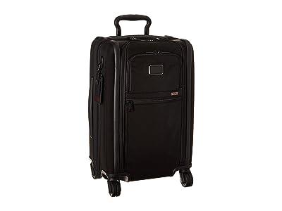 Tumi Alpha 3 International Expandable 4 Wheeled Carry-On (Black 1) Luggage