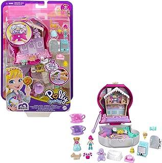Polly Pocket Coffret Univers La Machine À Bonbons, mini-figurines Polly et Margot, 5surprises et 13accessoires, jouet po...