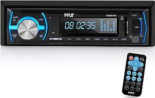 Pyle Marine Bluetooth Stereo Radio – 12v Single DIN Style Boat In dash Radio..