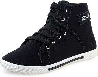 Jabra Men's Perfect Black Sneakers