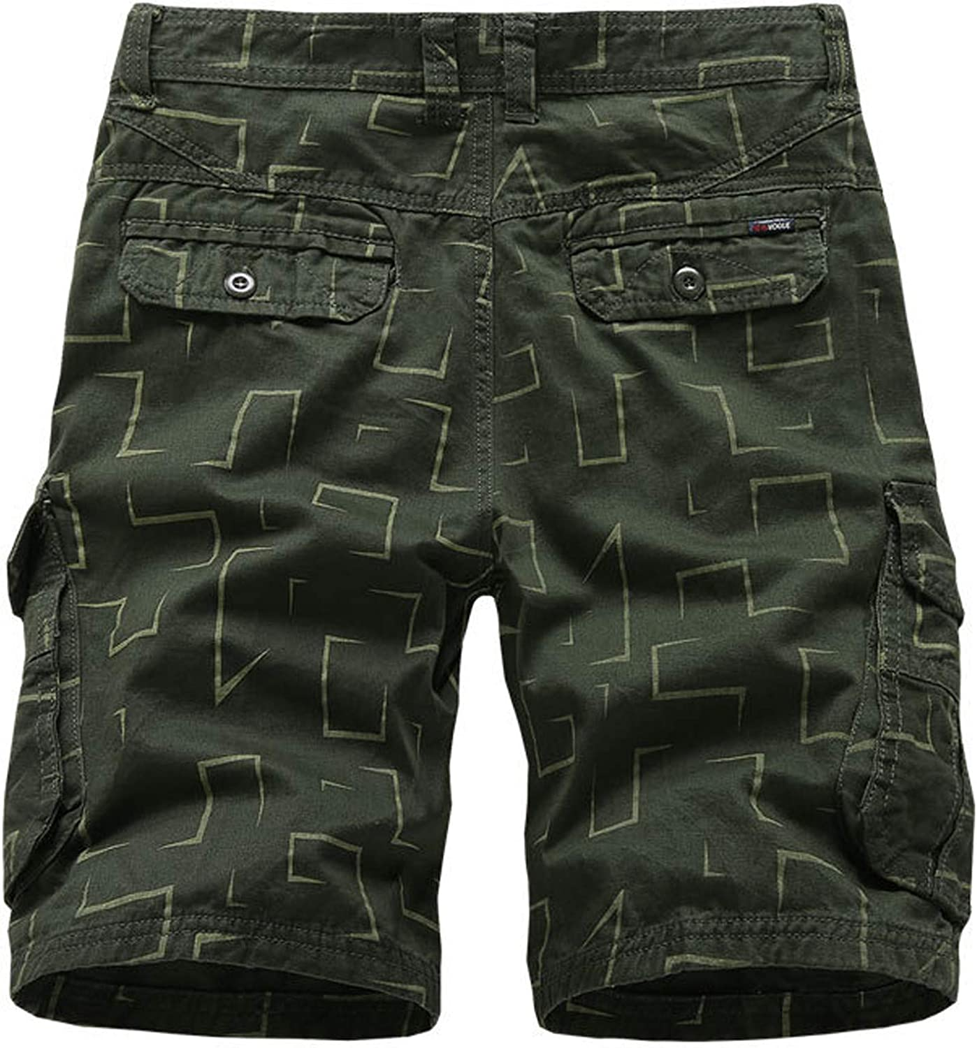 WYTong Men's Active Shorts Casual Solid Color Outdoors Pocket Beach Work Trouser Cargo Shorts Pant