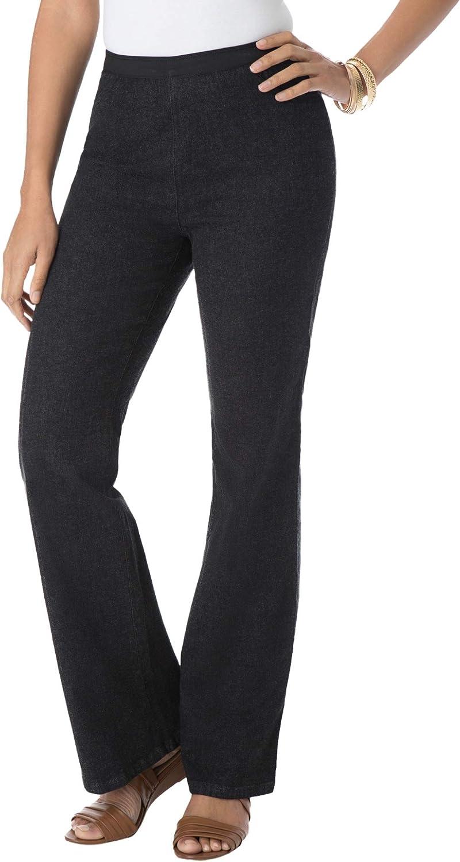 Jessica London Women's Plus Size Bootcut Stretch Denim Jeggings Jeans Legging