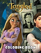 Tangled Coloring Book: Super Coloring Book for Kids and Fans – 50+ GIANT Great Pages with Premium Quality Images