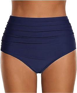 5386a40a9412fb Amazon.fr : culotte taille haute maillot bain : Vêtements