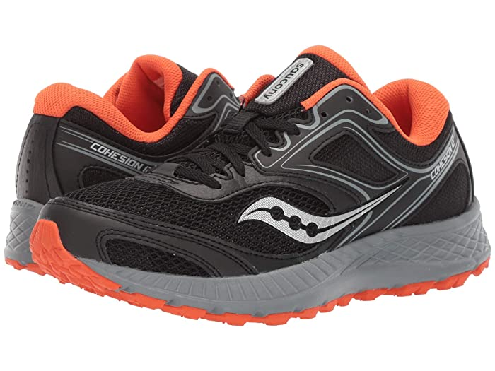 Saucony  Versafoam Cohesion TR12 (Black/Grey/Orange) Mens Shoes