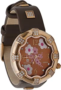 Christian Geen Analog Watch For Women - Leather, Brown - 4041Lls-Br