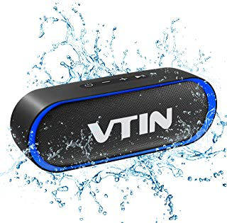 VTIN R4 Cassa Bluetooth 10W Altoparlante Bluetooth 24 Ore Playtime,Bluetooth 5.0 Speaker Portatile Connessione Stabile,Bat...
