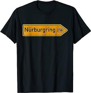 Nurburgring German Road Sign | Car & Racing Fanatic Tshirt