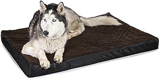 Superior Pet Goods SPGMatOrt3 Mock Lambswool Ortho Dog Mat, Medium, Brown