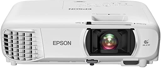 Epson Home Cinema 1080 3-chip 3LCD 1080p Projector, Streaming Projector, Home Theater Projector, Built-in Speaker, Auto Ke...