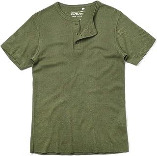 AVIREX アビレックス デイリーウエア 6173314 S/S サーマル ヘンリーネック Tシャツ 【ポスト投函 メール便 ネコポス便対応】