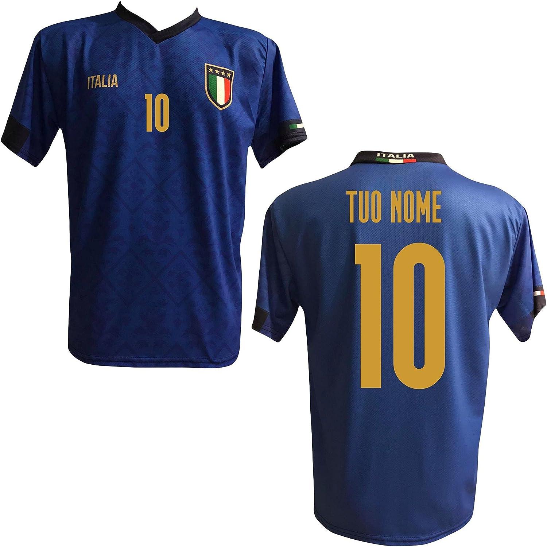MAESTRI DEL CALCIO Maglia T-Shirt Replica Italia Nazionale ...