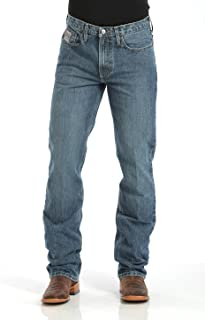 Cinch Jeans Silver Label Slim Fit Jeans (40x30, Medium Stonewash 001)