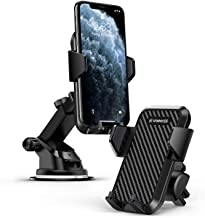 VANMASS Car Phone Mount, Dashboard Air Vent Cell Phone Holder for Car, Washable Strong Sticky Suction Pad, One Button Release Car Cradle, Compatible iPhone 11 Pro Xs XR X 8 7 Galaxy S10 S9 S8 Etc