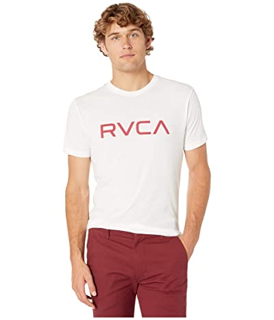 RVCA Big RVCA Tee (Antique White) Men
