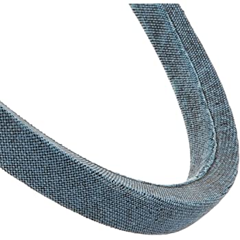 Jason Industrial MXV5-640 Super Duty Lawn and Garden Belt 0.66 Wide Synthetic Rubber 0.38 Thick 64.0 Long