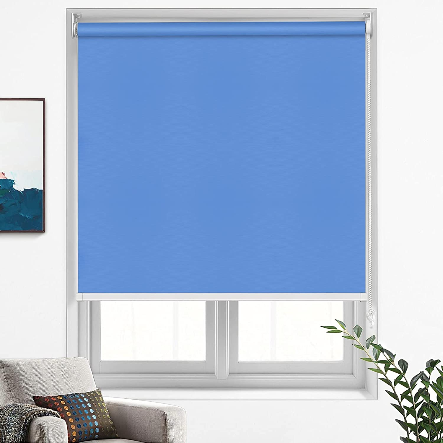 MiLin Blackout Roller San Jose Mall Shades Window Indefinitely Blinds Cu Custom and