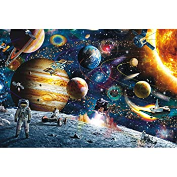 "Minisan 1000ピース ジグソーパズル 宇宙飛行士 パズル ""man in out space "" puzzle (50 x 75 cm)"