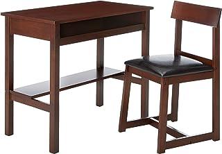 مكتب كتابة خشبي مع مقعد من ماجيربوكس