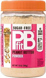 BetterBody Foods PBfit All-Natural Peanut Butter Powder, Sugar-Free, 13 oz., 127976