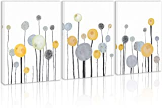 Modern Abstract Mushroom Flower Wall Art Decor Canvas Painting Kitchen Prints Pictures for Home Living Dining Room