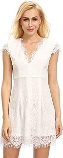 Best cap sleeve short white dress Reviews
